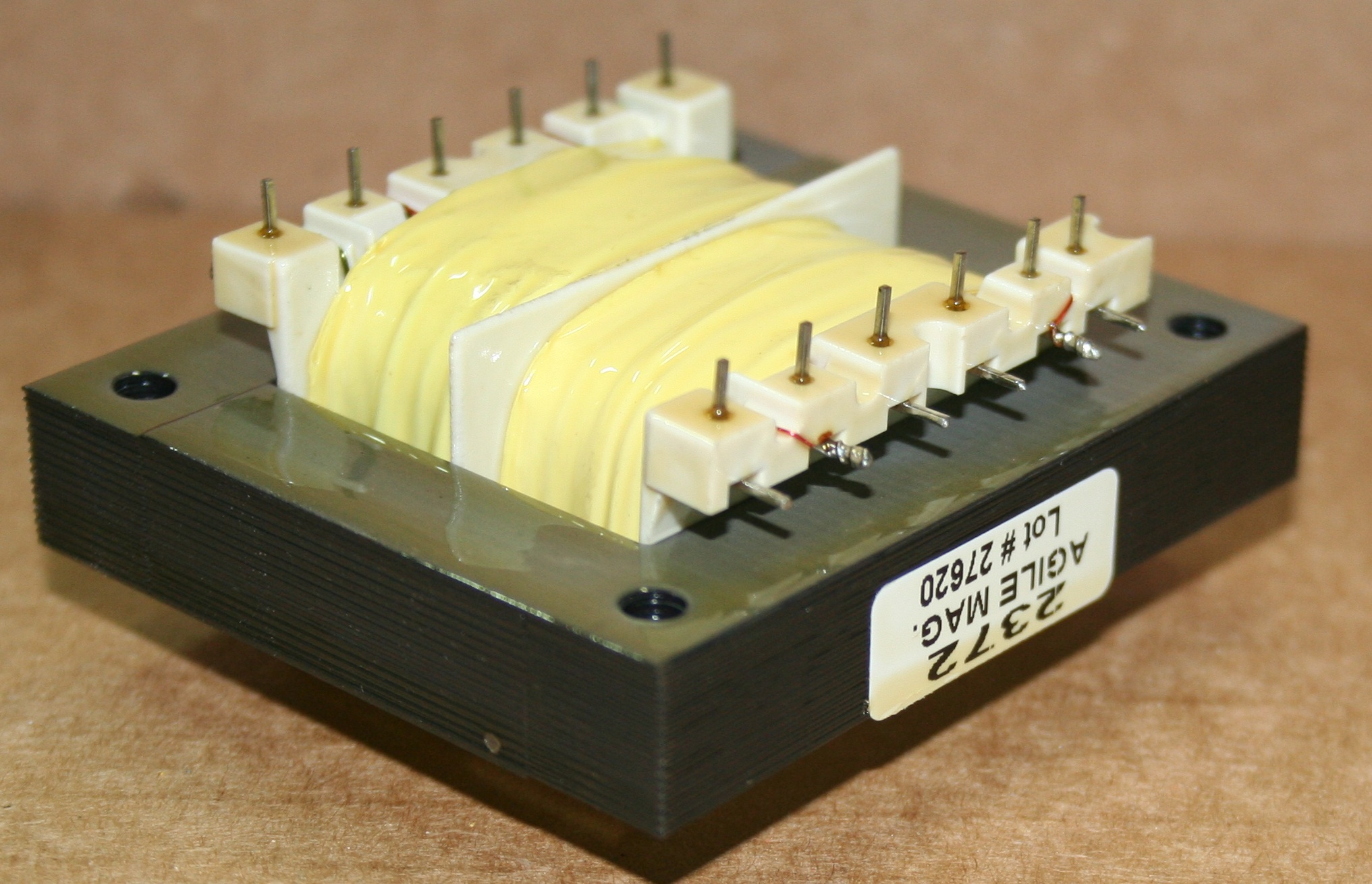 50 60 400hz Power Agile Magnetics Inc Circuit Using Tiny Ferrite Transformer Electronic Projects Pcb Mount